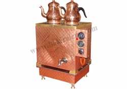 Elektrikli Bakır Çay Kazanı