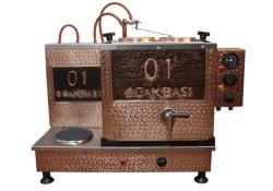 İkili Elektrikli Bakır Çay Kazanı